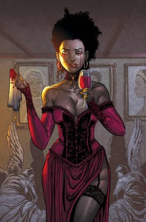 """Cover of """"Dark Red"""" from After Shock Comics"""